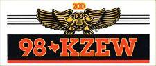 98 kzew Dallas Rock an Roll radio station 1980s