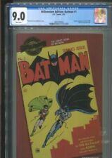 "MILLENNIUM EDITION BATMAN 1 ""THE DEBUT ISSUE OF BATMAN"" CGC VF/NM 9.0"