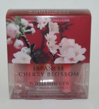 Bath & Body Works Wallflowers Scented Oil Refill Bulbs 2 Japanese Cherry Blossom