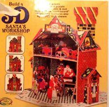 Build a 3-d Santa's Workshop Jigsaw Puzzles by Ceaco!