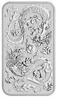 2020 Australia Dragon Rectangular 1 oz Silver $1 Coin GEM BU SKU61107