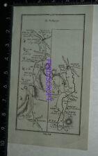 1778 Taylor & Skinner Strip Map Ireland -Baltinglass,Tullow,Dublin,Bray