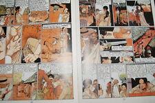 LES PASSAGERS DU VENT T4 L'HEURE DU SERPENT FRANCOIS BOURGEON GLENAT 1983 BD