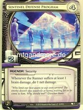 Android netrunner LCG - 1x Sentinel Defense Program #007 - creation and control