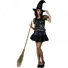 Sexy Spider Web Witch Fancy Dress Halloween Costume  SMALL REDUCED FREE UK P+P