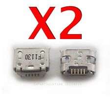 2X HTC HD2 T8585 Micro USB Charger Charging Port Dock Connector Socket USA