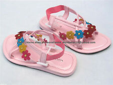 SO CHEAP! GOOD LUCK STRAPPY SANDALS SHOES 5.5-6.5 yo SZ 13/29 MADE IN KOREA
