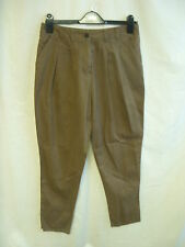 """Ladies Trousers - River Island, 31""""W, brown colour, chinos, tapered, used - 0524"""