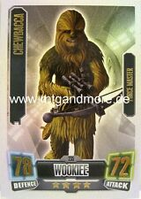 Force Attax Serie 2 Chewbacca #235 Force Master