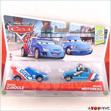 Disney Pixar Cars 2 WGP Raoul Caroule Bruno Motoreau 2 pk World Grand Prix 2013