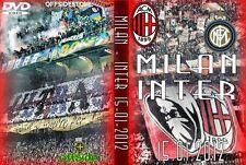 DVD MILAN-INTER 2012---------CURVA SUD MILANO,AC MILAN 1899,CN69