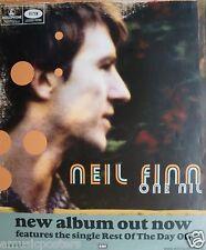 "NEIL FINN ""ONE NIL"" AUSTRALIA PROMO POSTER - Crowded House, Split Enz, Oz Music"