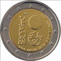 2 Euro Estland 2018 100 Jahre Republik