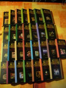 """LOT 29 livres""""comme neuf"""" de AGATHA CHRISTIE (COLLECTION COMPLETTE HACHETTE)"""