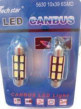 COPPIA LAMPADINE LUCI POSIZIONE AUTO TUNING 12V LED LIGHT BULB 50000 ORE BIANCA