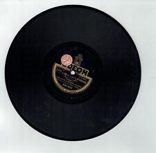 78T BACH & Henry LAVERNE Disque Phonographe ROIS COMMIS VOYAGEURS - ODEON 238855