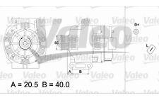 VALEO Alternador RENAULT KANGOO CLIO MEGANE LAGUNA SCENIC DACIA LOGAN 437393