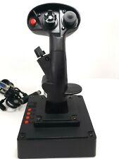 💎Suncom F-15E Talon💎 Joystick 15-pin Controller PC Gameport Stick  #96-6625