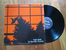 THE MOB Let The Tribe Increase LP 1ST PRESS UK ANARCHO PUNK RUDIMENTARY PENI