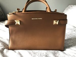 michael kors bag brown