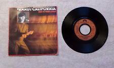 """DISQUE VINYL 45T 7"""" SP/ RANDY CALIFORNIA """"RUN TO YOUR LOVER"""" 1985 PROMO ROCK"""
