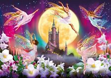 Modern Home art Decor fairy and castle oil painting picture Printed on Canvas