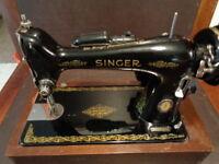 SINGER SEWING MACHINE 66 CENTENNIAL