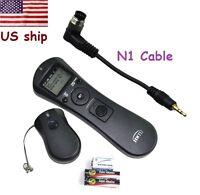 Jintu Wireless Timer Remote Control for Nikon D2Hs D1H D3S D300 D700 D800 D800E