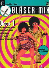 Bläser-Mix -  Disco 1 für C-Instrumente (Flöte/Oboe) mit CD