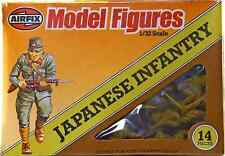 Airfix WWII Japanese Infantry #51555 - tan color - 14 figures mint in box