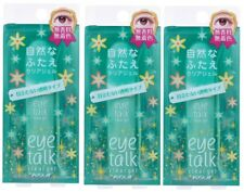 3 pcs Koji Japan Eye Talk Double Eyelid Adhesive Glue Clear Gel 7mL / 0.24floz