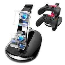 Black Dual USB Charging Charger Docking Station Stand for Xbox One Controller