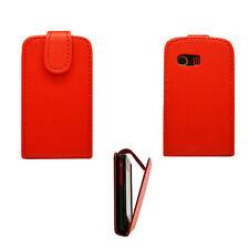 Handy Tasche Case Etui Flip für Samsung Galaxy Y GT-S5360 Handytasche Hülle ROT