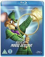 Basil the Great Mouse Detective [Blu-ray] [Region Free] [DVD][Region 2]