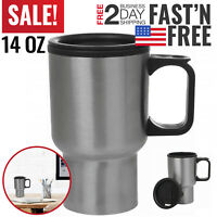 Travel Coffee Mug Cup Stainless Steel Thermal Insulated Large To Go Portable