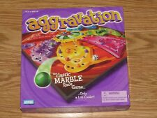 Parker Brothers Aggravation- Classic Marble Race Board Game 2002 COMPLETE