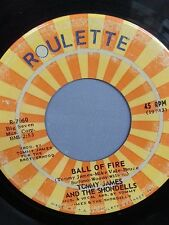 """TOMMY JAMES AND THE SHONDELLS 45 RPM """"Ball of Fire"""" """"Makin' Good Time"""" VG-"""