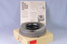 [ Mint ] Kodak projector Carousel transvue 140 slide tray in original box