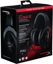New HyperX Cloud II Gaming Headset for PC PS4 Xbox One Nintendo Switch Black