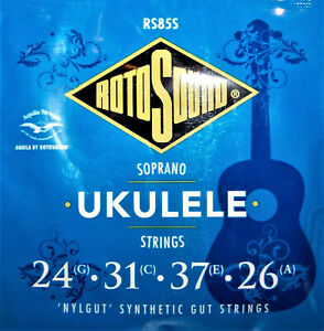 Rotosound Saprano Ukulele Strings. Synthetic Gut Strings. RS85S