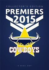 NRL - 2015 Premiers (DVD, 2015, 5-Disc Set)