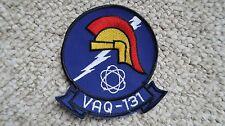 """VAQ-131 Lancers Navy 4.25""""x4.5"""" Patch"""