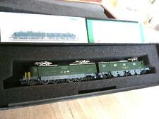 Spur N Minitrix 12713 Ae 8/14 grün für Gotthard-Strecke, Fine Art (Messing)