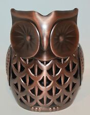BATH BODY WORKS OWL HAND SOAP SLEEVE HOLDER FOAMING DEEP CLEANSING SMALL CANDLE
