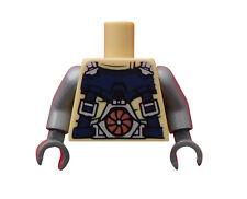 Lego Torso Oberkörper Psyclone Ultra Agents 973pb1689c01 Hände in dunkelgrau Neu