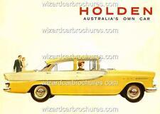 1960 FB HOLDEN AUSTRALIA GMH 400mm x 300mm HEAVY STEEL GARAGE SIGN NOT - TIN