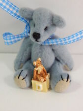 "World of Miniature Bears 2.5"" Cashmere Bear Bear's Toy #5328A"