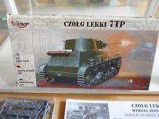 Modelkit Mirage Hobby 7TP Light Tank on 1:72 in Box