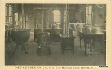 C-1910 Military Diet Kitchen Base Hospital Camp Merritt New Jersey  Simon 2723