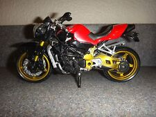 "AGUSTA MV CRC BRUTALE Model Street Bike Motorcycle Red Black Silver Gold 6.5""x4"""